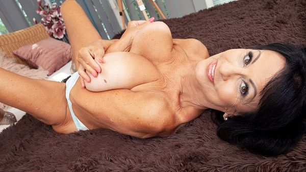 A new 60something with huge tits